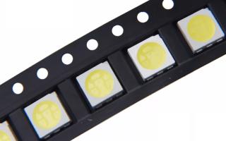 5050 SMD LED: характеристики и схема подключения светодиодов