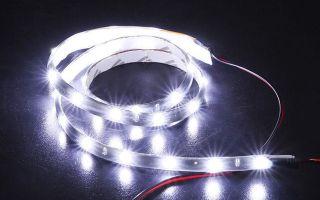 Инструкция подключения светодиодной ленты для автомобиля: способы и советы