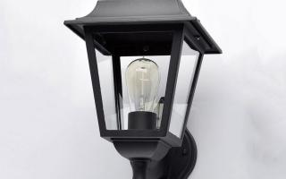 Обзор уличных светильников с датчиком света: советы по выбору
