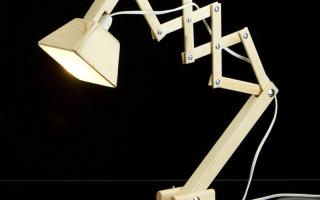 Как сделать настольную лампу своими руками: оригинальные идеи