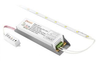 Как подключить блок аварийного питания (БАП) для светодиодных (LED) светильников
