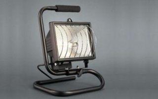 Характеристика и особенности выбора галогенового прожектора