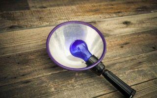 Эффективность использования синей лампы – инструкция по применению