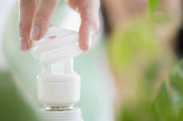 Экономная лампа