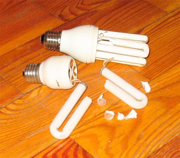 Лампа на полу