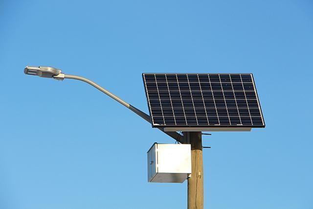 Светильник с автономной энергией