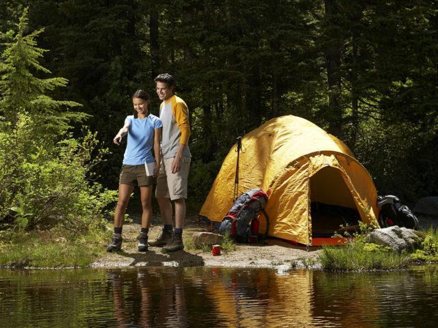 Туризм с палатками