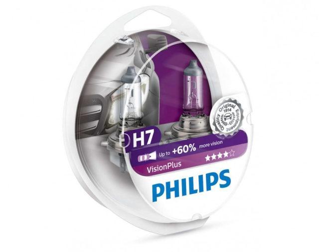 Лампа philips vision plus