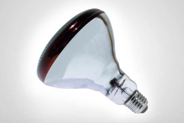 Одна лампа