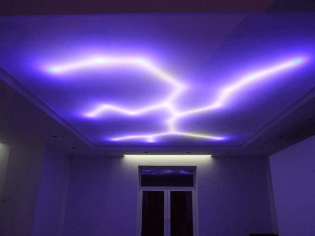 Скрытая подсветка