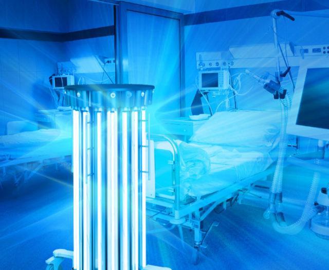 Ультрафиолетовая (кварцевая) лампа против коронавируса